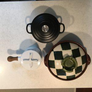 ル・クレーゼと他の鍋